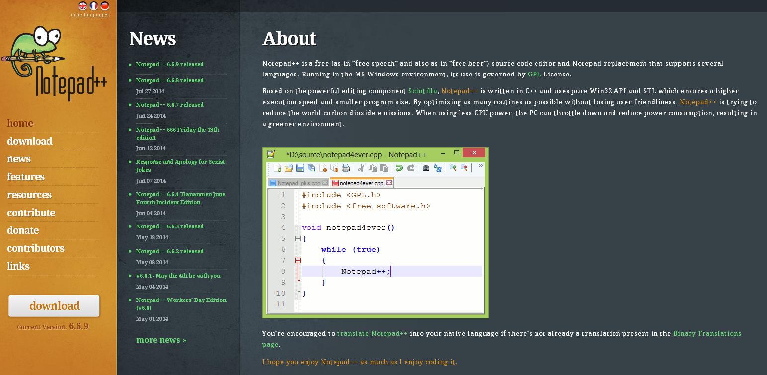Таблица в блокноте html пример